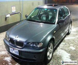 BMW 320i 2002, CHARCOAL GREY, LEATHER INTERIOR, 173,000 KMS, 12 MONTHS REG, GC  for Sale