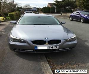 BMW 525d SE 2005 / 05 Grey 6 Speed Diesel Full MOT for Sale