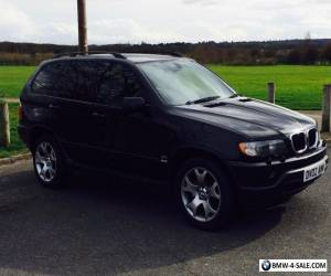 2002 BMW X5 - MOT until March 2017, service history, low mileage, full leather  for Sale