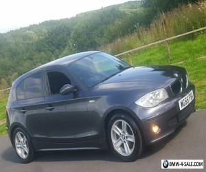 2005/55 BMW 116i SPORT 5DR 1 SERIES 116 METALLIC GREY NATIONAL DELIVERY NEW MOT for Sale