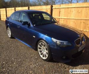 2008 bmw 525d m sport   3.0td automatic.  Fully Loaded 133k for Sale
