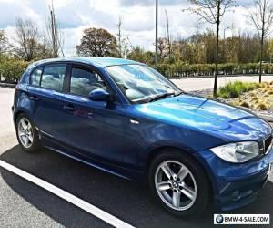 BMW 116 1.6 i Sport 5 DOOR Blue FULL SERVICE HISTORY BARGAIN  for Sale
