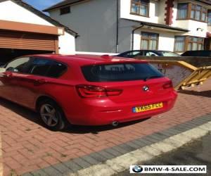 bmw 116d auto *unrecorded* salvage damaged sat nav! for Sale