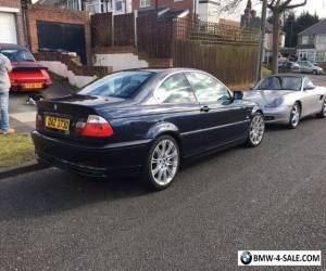 "Bmw 320 Ci  SE , birmingham , 18"" Alloys , 1yr mot , black leather manual Blue for Sale"