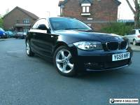 BMW 118D SPORT COUPE LOW MILEAGE FSH BLACK REDUCED PRICE MOT 116 120 m sport