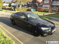 BMW 320I M SPORT BLACK CONVERTIBLE E93 E92 2008