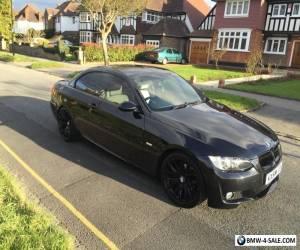 BMW 320I M SPORT BLACK CONVERTIBLE E93 E92 2008  for Sale