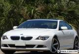 2008 BMW 6-Series SPORT PKG M6 WHEELS for Sale