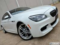 2013 BMW 6-Series LOADED M Sport 650i Gran Coupe MSRP $107k WTY NR