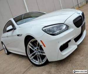 2013 BMW 6-Series LOADED M Sport 650i Gran Coupe MSRP $107k WTY NR for Sale