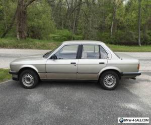 1986 BMW 3-Series 324d for Sale