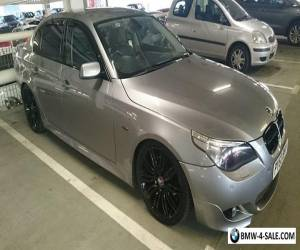 """BMW e60 530d m-sport kit leather interior 19"""" manual for Sale"""