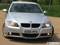 2006 BMW 3 SERIES 320d M Sport 4dr MET SILVER&BLACK M SPORT LEATHER 135K&SH 4395