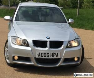 2006 BMW 3 SERIES 320d M Sport 4dr MET SILVER&BLACK M SPORT LEATHER 135K&SH 4395 for Sale